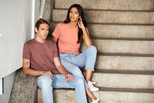 Best Wholesale T-Shirt #2: Bella + Canvas 3001C Unisex Short-Sleeve T-Shirt